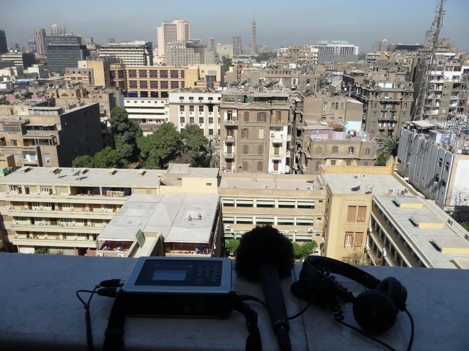 Sound Aufnehmen in Kairo